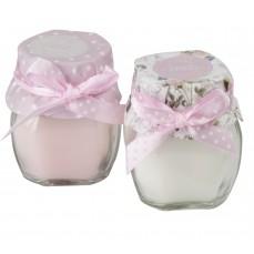 Lõhnaküünal klaasis, H 6 cm