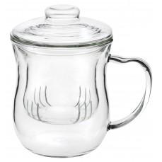 Teetass Julia 300 ml koos klaasist sõela ja kaanega