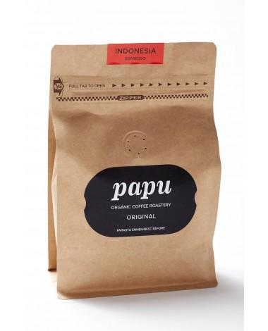 Käsitsi röstitud päritolumaa Mahe kohvioad Indonesian